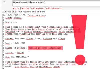 Podvodné e-maily